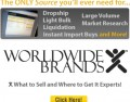 How to get Worldwide Brands free