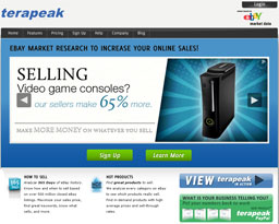 Click here to increase eBay sales with Terapeak research