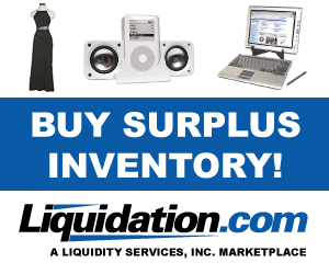 liquidation and surplus inventory auctions Liquidation.com Review