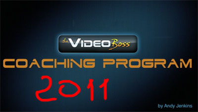 Video Boss 2011 edition by Andy Jenkins
